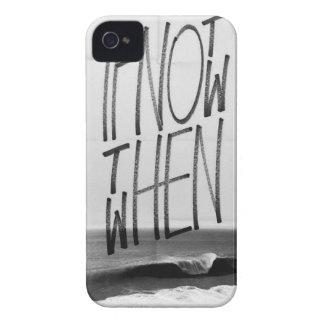 Si no ahora entonces cuando Case-Mate iPhone 4 protectores