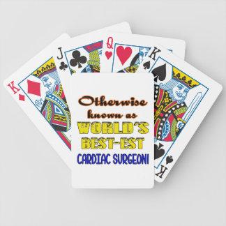 Si no conocido como cirujano cardiaco más bestest cartas de juego