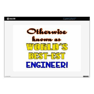 Si no conocido como ingeniero más bestest del portátil 38,1cm skins