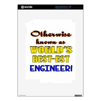 Si no conocido como ingeniero más bestest del skin para el iPad 2