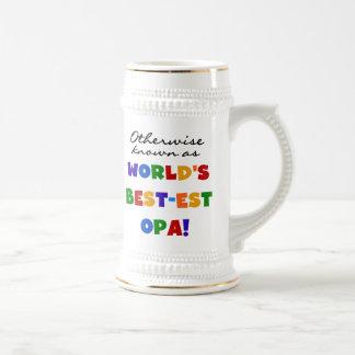 Si no conocido como las mejores camisetas y regalo taza