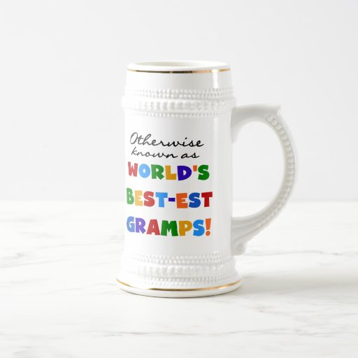 Si no conocido como Mejor-est Gramps Tazas De Café