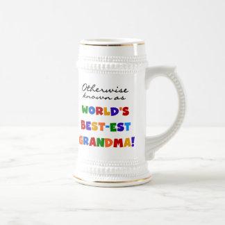 Si no conocido como regalos de la abuela Mejor-est Jarra De Cerveza