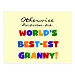 Si no conocido como regalos de la abuelita Mejor-e Postales