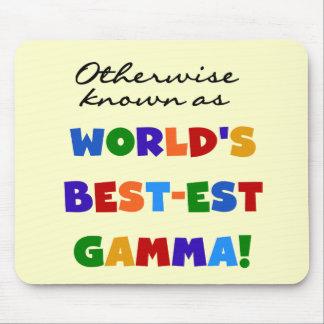 Si no conocido como regalos de la gamma Mejor-est Alfombrilla De Ratones