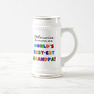 Si no conocido como regalos del abuelo Mejor-est Jarra De Cerveza