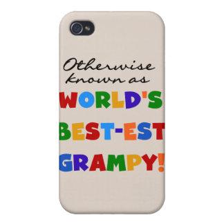 Si no conocido como regalos del Mejor-est Grampy d iPhone 4/4S Fundas