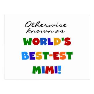 Si no conocido como regalos Mejor-est Mimi Postal