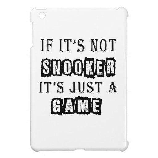 Si no es billar es apenas un juego iPad mini carcasa
