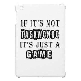 Si no es el Taekwondo es apenas un juego iPad Mini Cárcasa