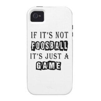 Si no es Foosball es apenas un juego iPhone 4/4S Funda