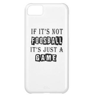 Si no es Foosball es apenas un juego