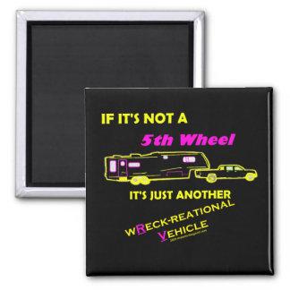 Si no es rueda de A 5ta Imán Cuadrado