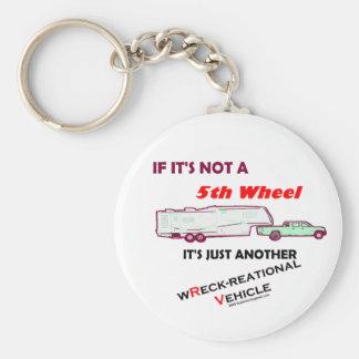 Si no es rueda de A 5ta Llavero Redondo Tipo Pin