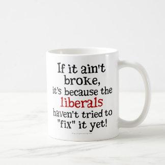 Si no es se rompió…. tazas de café