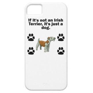 Si no es Terrier irlandés iPhone 5 Funda