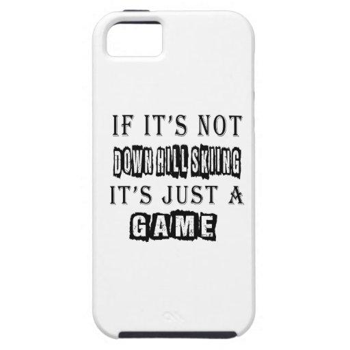 Si no es trague la colina que esquía él es apenas iPhone 5 funda