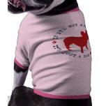 Si no es un dogo francés, es apenas un perro (r) camisetas de perro