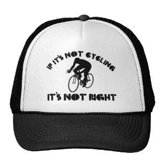 Si no está completando un ciclo correcto gorro de camionero