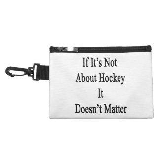 Si no está sobre hockey no importa