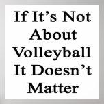 Si no está sobre voleibol no importa impresiones