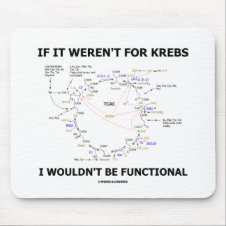 Si no estuviera para Krebs no sería funcional Tapetes De Ratones