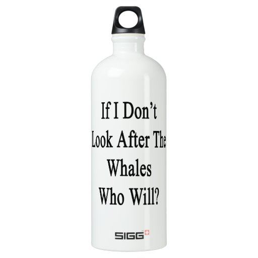 Si no me ocupo las ballenas que lo van a hacer