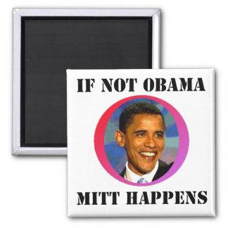 Si no Obama Imán Cuadrado