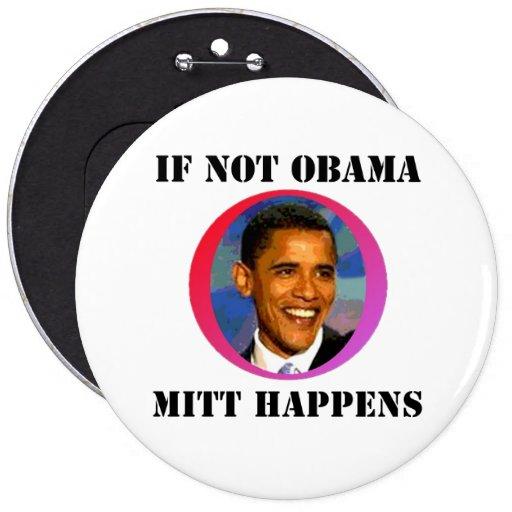 Si no Obama Pins