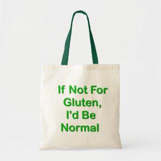 Si no para el gluten, sería normal bolsa tela barata