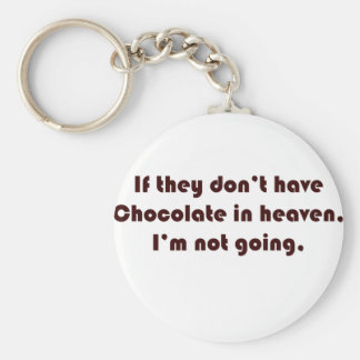 Si no tienen chocolate en cielo que no soy goi llaveros