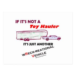 ¿Si no un transportista del juguete? Tarjeta Postal