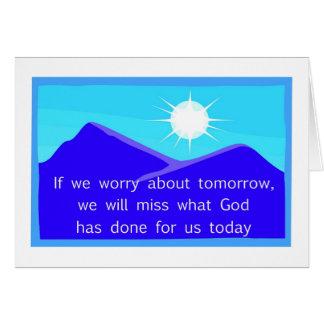 Si nos preocupamos de decir cristiano de la mañana felicitaciones