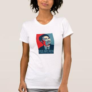 Sí nosotros Distres de la mujer de Ken (Obama)… - Tee Shirts