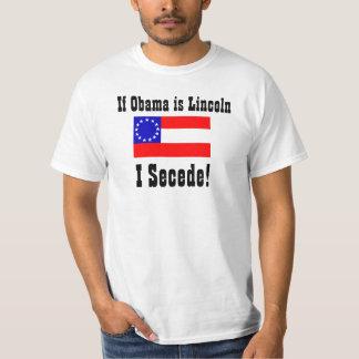 ¡Si Obama es Lincoln, Secede! Polera