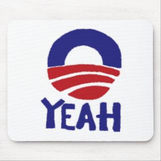 Sí Obama Mousepads