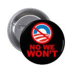¡Sí, podemos! ¡No, no! Pins