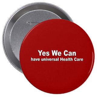 Sí podemos tener atención sanitaria universal pin