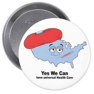 Sí podemos tener atención sanitaria universal pins