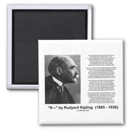 """Si"" poema de Rudyard Kipling Iman De Nevera"