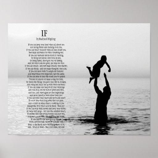 Si poema de Rudyard Kipling Poster