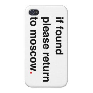 si por favor encontrada vuelta a Moscú iPhone 4/4S Fundas