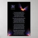 Si por Rudyard Kipling con la impresión de Phoenix Posters
