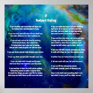 Si por Rudyard Kipling en Orión Póster