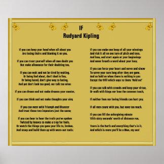 Si por Rudyard Kipling Impresiones