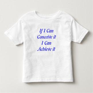Si puedo concebirlo puedo alcanzarlo camiseta remera