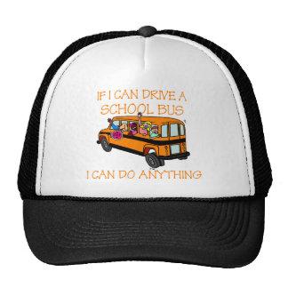 Si puedo conductor un autobús escolar, puedo hacer gorro