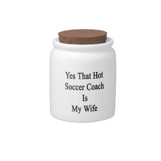 Sí que el coche caliente del fútbol es mi esposa platos para caramelos