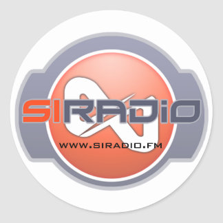 SI Radio Dual Logo Sticker