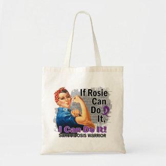 Si Rosie puede hacerlo guerrero de la sarcoidosis Bolsa Tela Barata